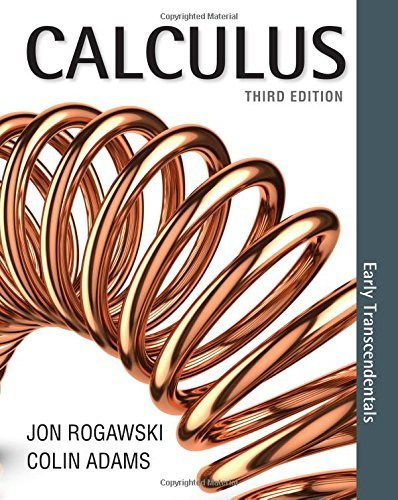 Read Online By Jon Rogawski - Calculus: Early Transcendentals (Third Edition) (2015-01-30) [Hardcover] PDF