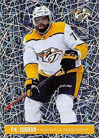 2018-19 Panini NHL Stickers Collection  412 P.K. Subban Foil Nashville  Predators Official Hockey 72e5dca57