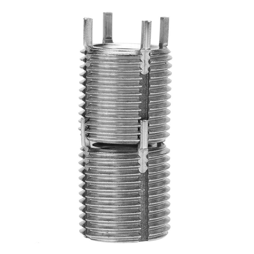 Insert de R/éparation de Filetage Inserts Filet/és Accessoires de R/éparation de Filetage de Fil de Vis de Goupille de Verrou en Acier Inoxydable Ins/ère #5 M10*1.5//M16*1.5//16mm//2pcs