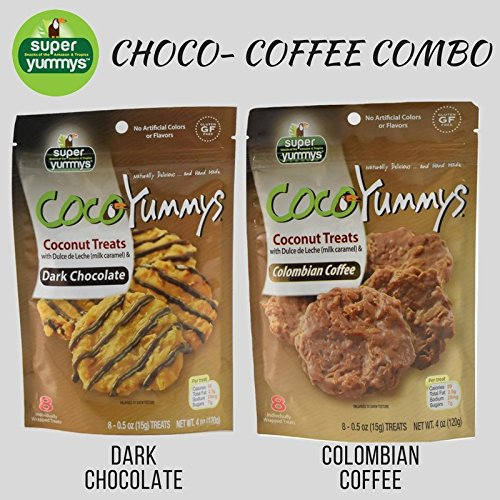 Amazon.com : 2 Bags of Coco Yummys (Dark Chocolate) : Grocery & Gourmet Food