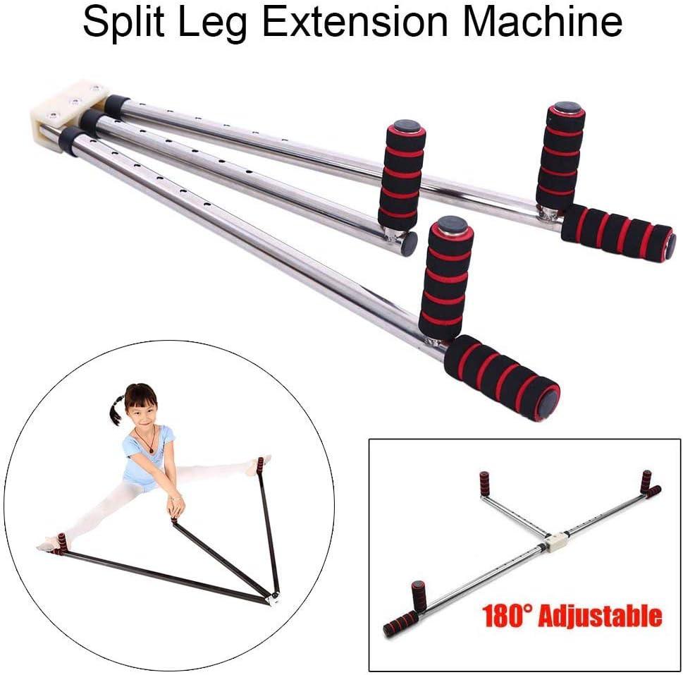 Buffyin Ballet Pata Extensión Máquina Flexibilidad Entrenador División Patas Ligamento para Estirar