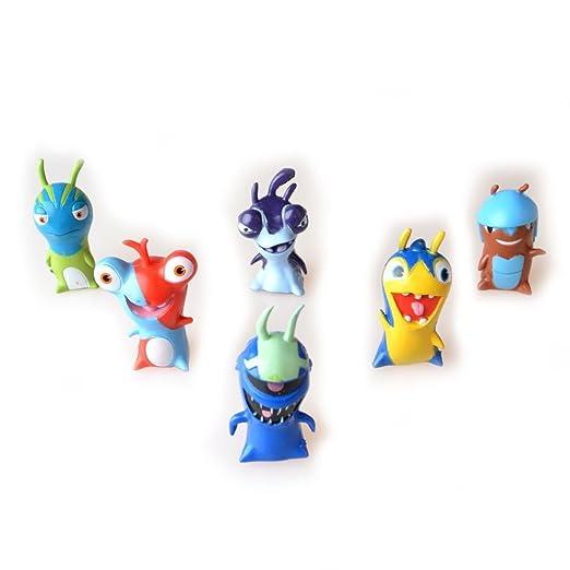 Amazon.com: 24pcs Slugterra Mini PVC Action Figures Christmas Toys Dolls Kids Gift Cartoon: Toys & Games
