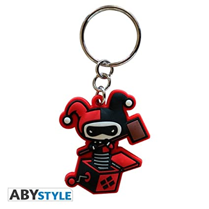ABYstyle abykey140 DC Comics Llavero PVC Harley Quinn ...