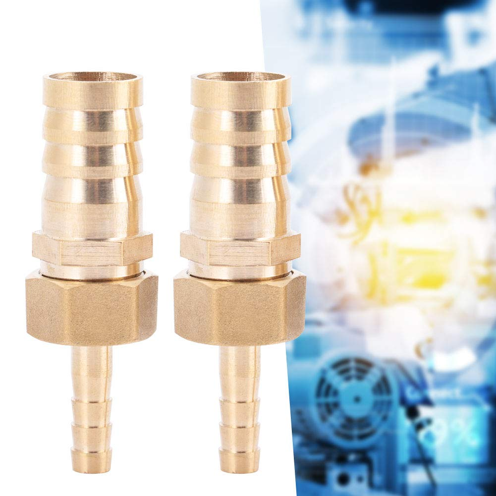 Brass Hose Barb for Connecting Pipes Thread Hose Connector Thread Coupler Plug Connector 6mm-25mm 1pcs Hose Barb