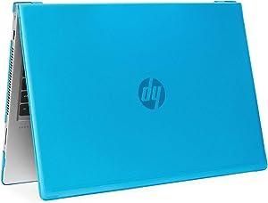 "mCover Hard Shell Case for 2019 15.6"" HP ProBook 450/455 G6 Series (NOT Compatible with Older HP ProBook 450/455 G1 / G2 / G3 / G4 / G5 Series) Notebook PC (PB450-G6 Aqua)"