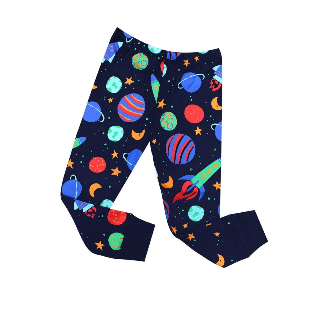 Myhome99 Pajamas Children Sleepwear Rocket Pijamas for 1-8 Years Girls Boys