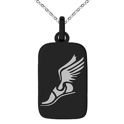 Amazon Black Stainless Steel Hermes Greek Messenger Of Gods