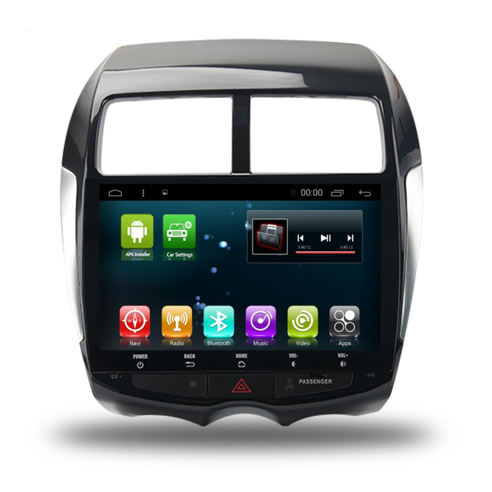 Amazon com: GPS Navi Radio Android 7 1 for Mitsubishi ASX RVR 2010+