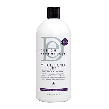 Design Essentials Milk & Honey 6N1 Reconstructive Conditioner, ...