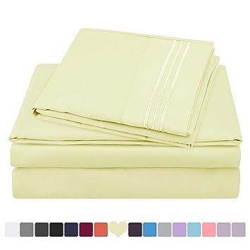 Amazon.com: HOMEIDEAS Hotel Luxury Soft 1800 Series Premium Bed