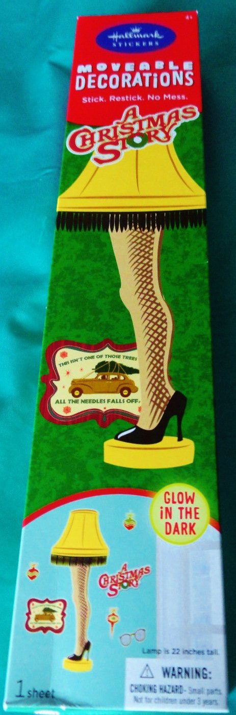 amazoncom a christmas story moveable decorations by hallmark stickers - A Christmas Story Decorations