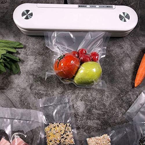 Confezionatrice sottovuoto Bianca per Uso Domestico Confezionatrice sottovuoto per Uso Domestico Sacchetti Salva-Cibo Sigillante Alimentare (Colore: Bianco) (Colore Bianco)