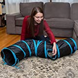 PetLike S Way Cat Tunnels Collapsible Kitty Tunnel