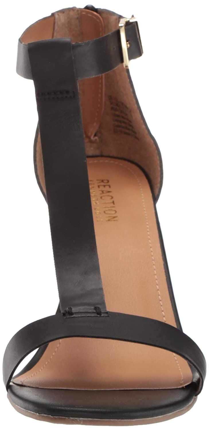 Kenneth Cole REACTION Womens Ava Great T-Strap Wedge Sandal Wedge Sandal