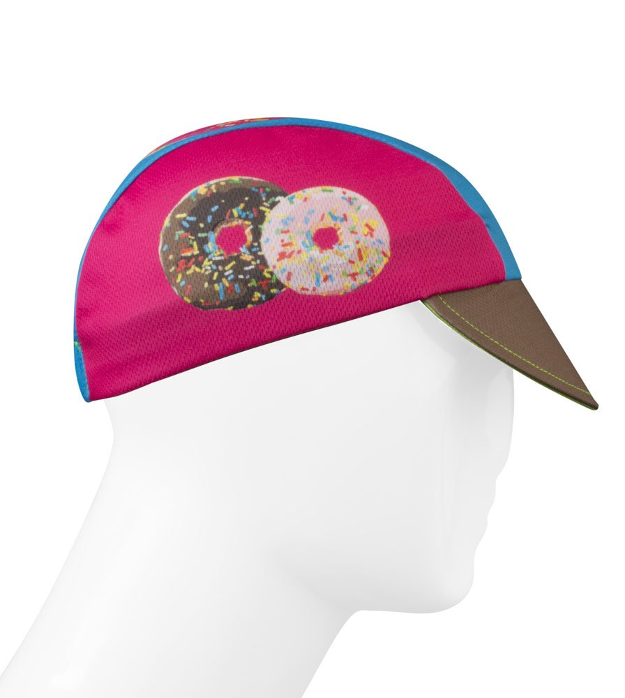 Coffee & Donuts Cycling Cap - Made in the USA