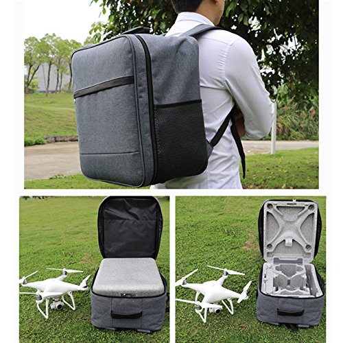 New Backpack Phantom Carrying Bag Shoulder Case For DJI Phantom 4 Phantom 3 Quadcopter Drone by Alek...
