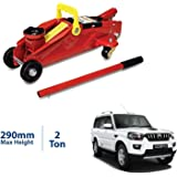 Semaphore (2 Ton) Car Hydraulic Trolley Jack for Mahindra Scorpio 7 Seater