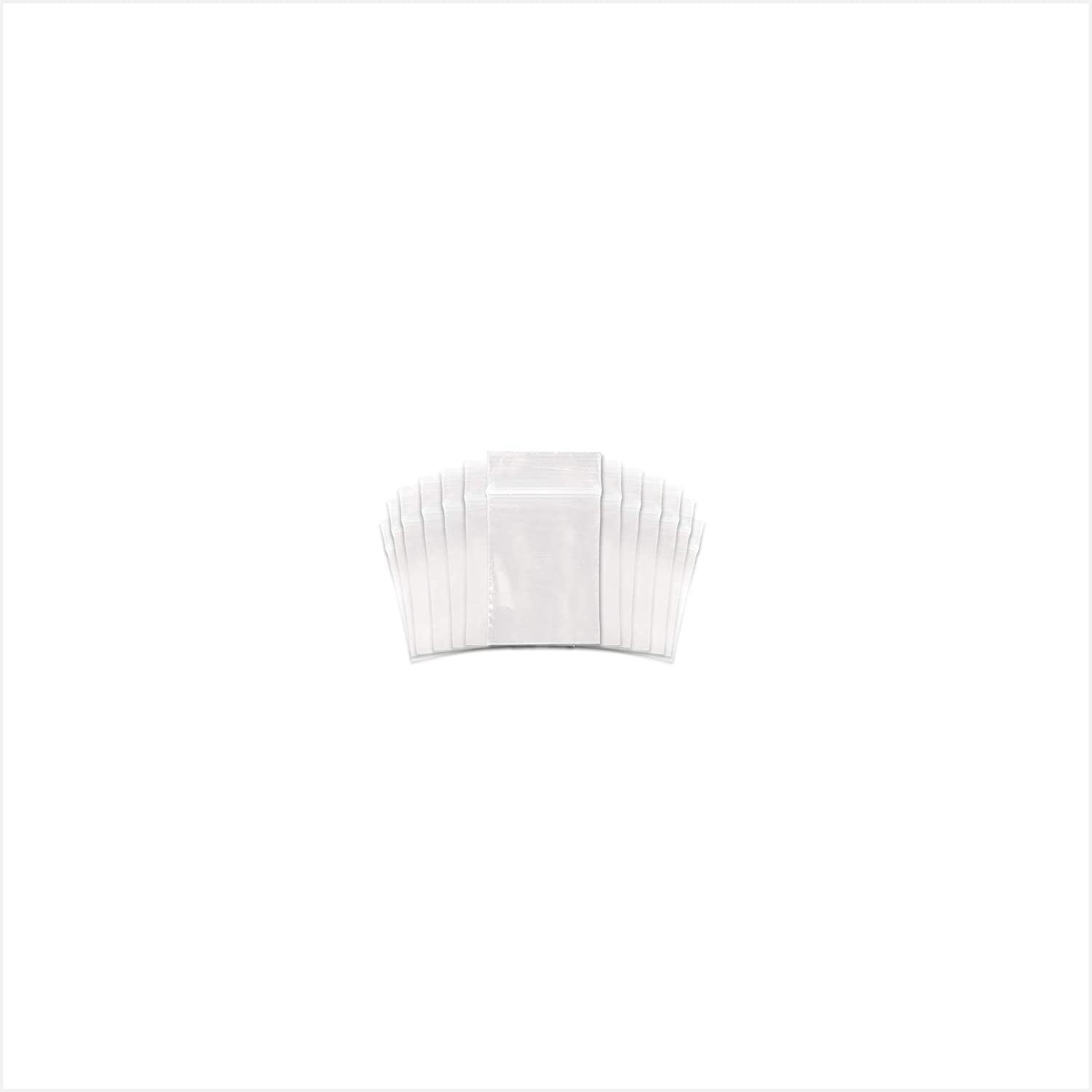 """SNL Quality Zip Lock Reclosable Clear Disposable Plastic Bags, Strong 