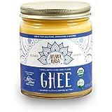 <常温>米国産 100%オーガニック アハラ ラーサ オーガニック ギー Ghee グラスフェッドギーバター 8oz(有機発酵無塩バター由来バターオイル) チャーン製法