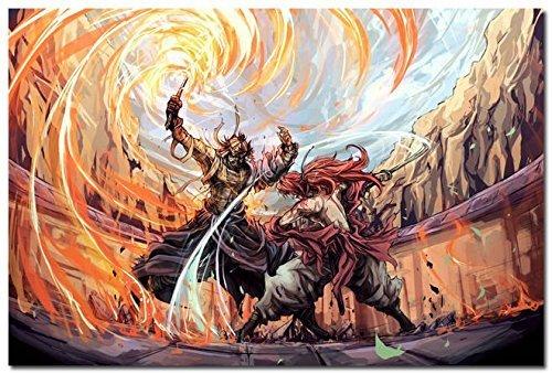 (Tomorrow sunny Rurouni Kenshin Hot Anime Movie Large Art Silk Poster 24x36 inch Himura Kenshin)