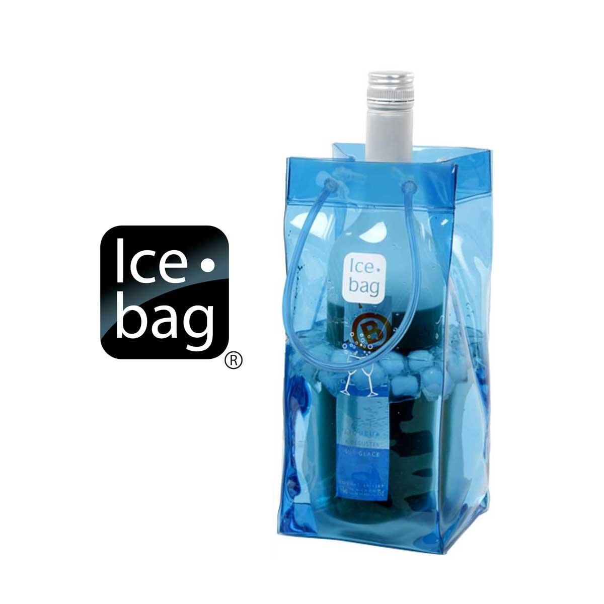 Portable Ice Bag - Blue, Set of 2