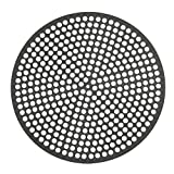 Lloyd Pans Quik-Disk, Pre-Seasoned PSTK, Anodized Aluminum 14 Inch Perforated Pizza Disk Case of 12 by LloydPans
