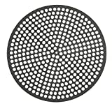 Lloyd Pans Quik-Disk, Pre-Seasoned PSTK, Anodized Aluminum 14 Inch Perforated Pizza Disk Case of 12