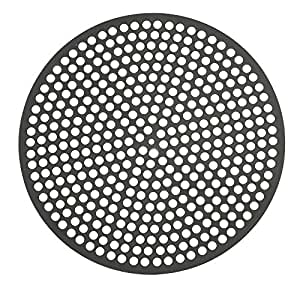 Lloyd Pans Quik-Disk, Pre-Seasoned PSTK, Anodized Aluminum 16 Inch Perforated Pizza Disk Case of 12