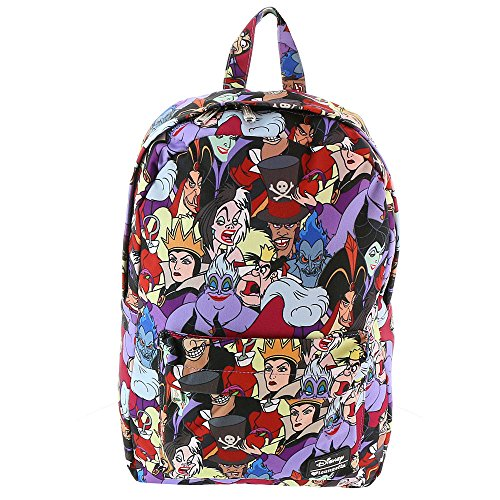 Loungefly Disney Character Backpack (Villains AOP) -