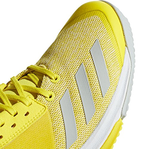 Volleyball Femme Jaune Adidas Chaussures 000 Team ftwbla amasho placen Crazyflight De wCcqPUT
