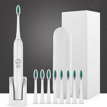 NAN Cepillo de dientes eléctrico Adulto Cepillo de dientes recargable Sonic Smart Cepillo de dientes A