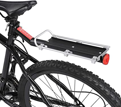 Bicycle Mountain Bike Rear Rack Seat Post Mount Pannier Luggage Holder Carrier