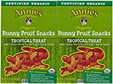 ANNIES HOMEGROWN FRUIT SNK TRPCLTRT BUNNY ORG, 4 OZ