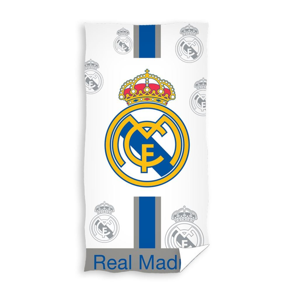 Real + Madrid Bath Towel 150 x 75 cm Bath Towel Beach Towel RM17 1101