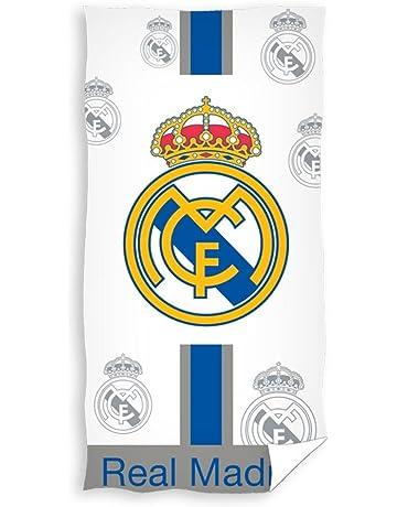 Real Madrid Toalla de Baño y Playa 100% Algodón de 75x150 cm. RM171101