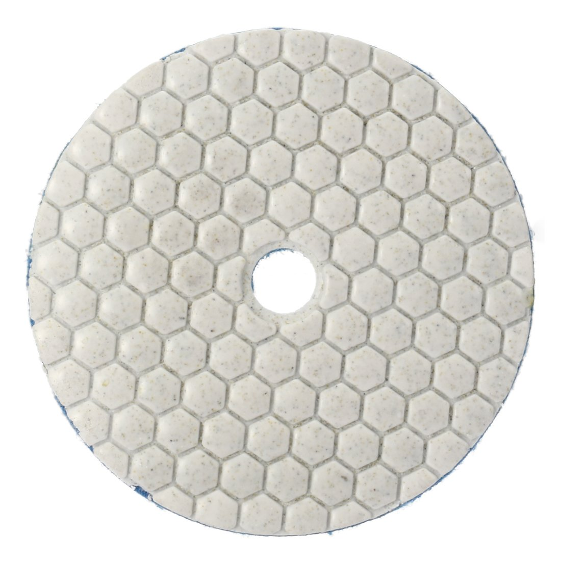 uxcell 4-inch M10 Diamond Dry Polishing Pad Grit 150 7PCS for Sanding Marble Granite Stone by uxcell (Image #4)