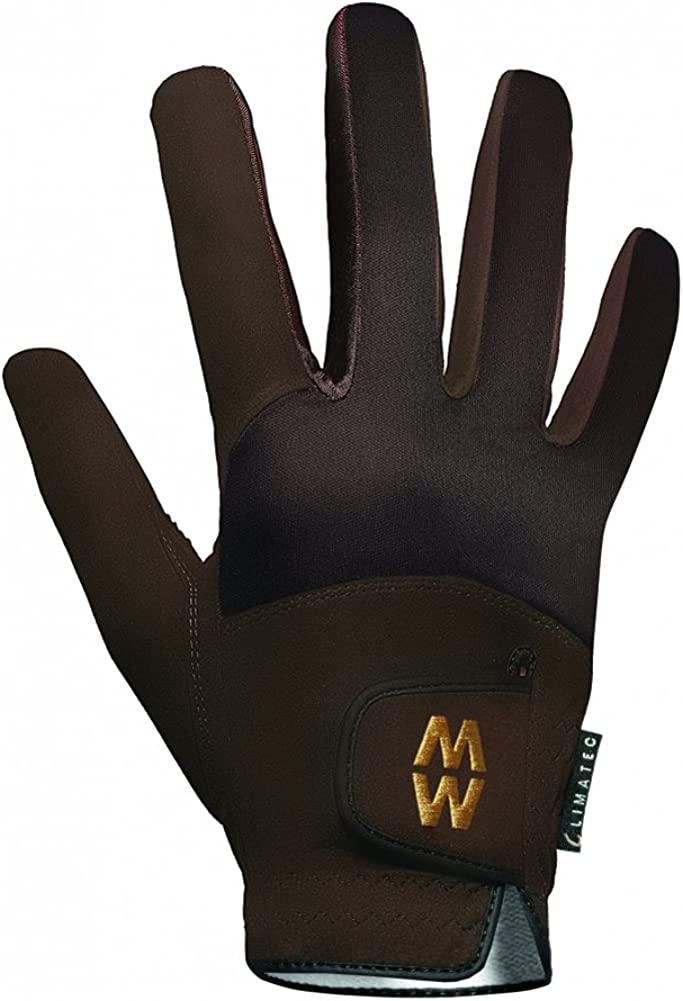 Mens /& Ladies 1 Pair MacWet Short Climatec Sports Gloves