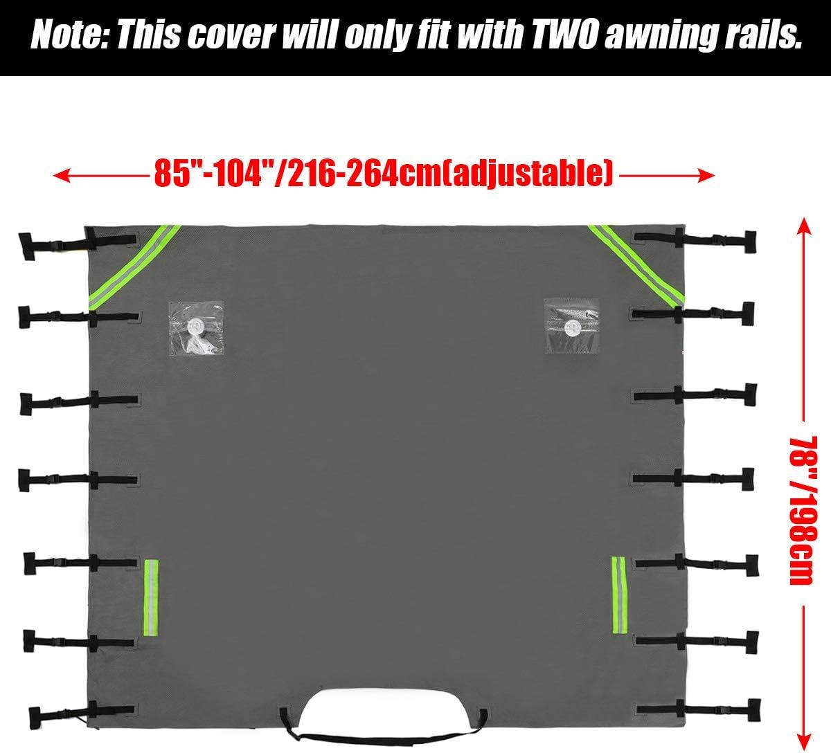 Cubierta protectora delantera universal Eluto para remolques 104 x 78 cm