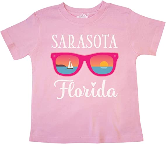 inktastic Sarasota Florida Summer Trip Toddler T-Shirt