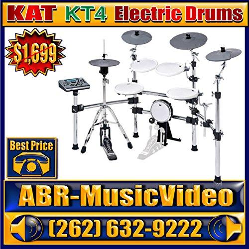 KAT KT4 5-Piece Advanced Electronic Drum Kit -  Twilight, TWLHNBCAMERA779177704577