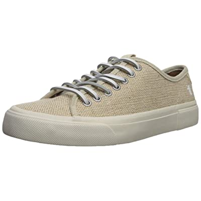 FRYE Men's LUDLOW LOW Tennis Shoe, OFF WHITE, 9.5 M: Shoes