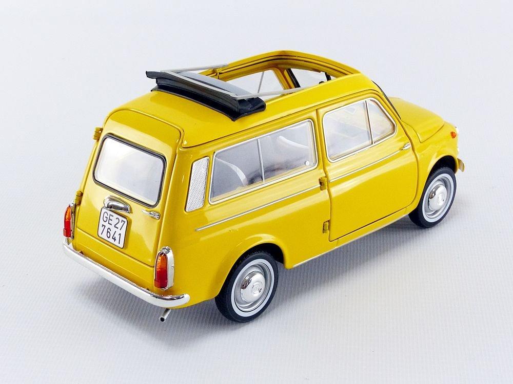 Jaune Positano Norev Miniature Voiture Fiat 500 Giardiniera 1968 Echelle 1//18 187724