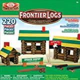 Ideal Frontier Logs Classic All Wood 220-Piece Construction Set