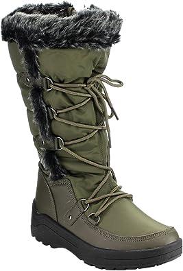New Women Nature Breeze Furry-01 Furry Open Toe Flat Slip On Sandal