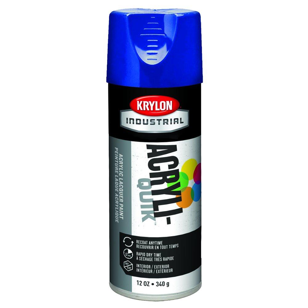 Krylon K01910A00 Safety Five Ball Interior/Exterior Spray Paint, 16 oz, True Blue (Pack of 6)