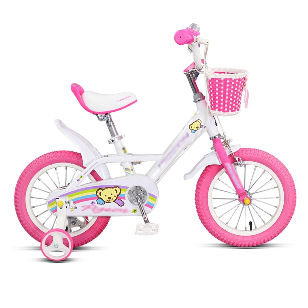 HAIZHEN マウンテンバイク 子供用自転車 トレーニングホイール付きの少年の自転車と少女の自転車 14インチ、16インチ アウトドアアウト 新生児 B07CG3M4NPB 16 inch