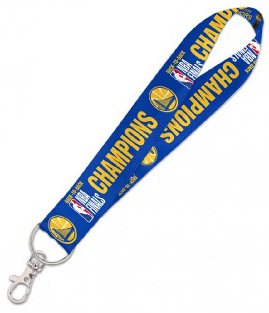 WinCraft Golden State Warriors 2018 NBA Champions Key Strap Key Chain