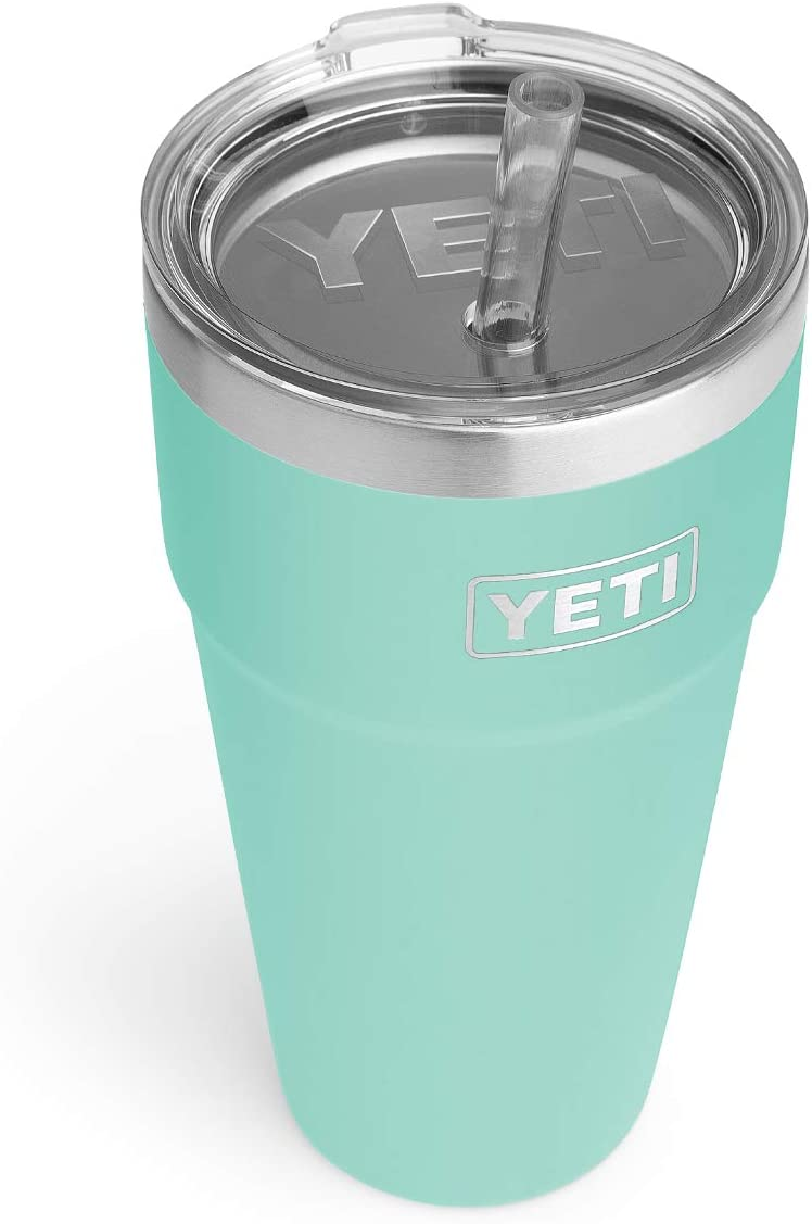 YETI Rambler 26 oz Straw Cup, Vacuum Insulated, Stainless Steel with Straw Lid