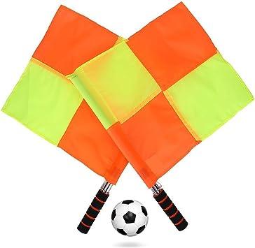 MRCARTOOL Escalera de Agilidad y Velocidad, para Entrenamiento y Ejercicio, para fútbol con Bolsa de Transporte – 4 m, Referee Flags: Amazon.es: Deportes y aire libre