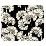 Kate Spade White and Black Pattern Customized Rectangle Mousepad